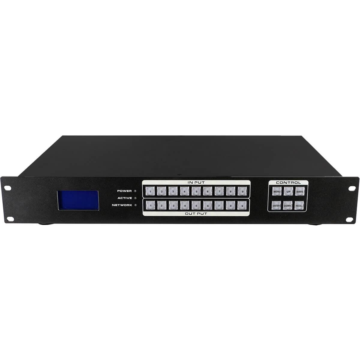 BeingHD Matriz De Video HDMI 9×9 FIX Manager 900 Plus