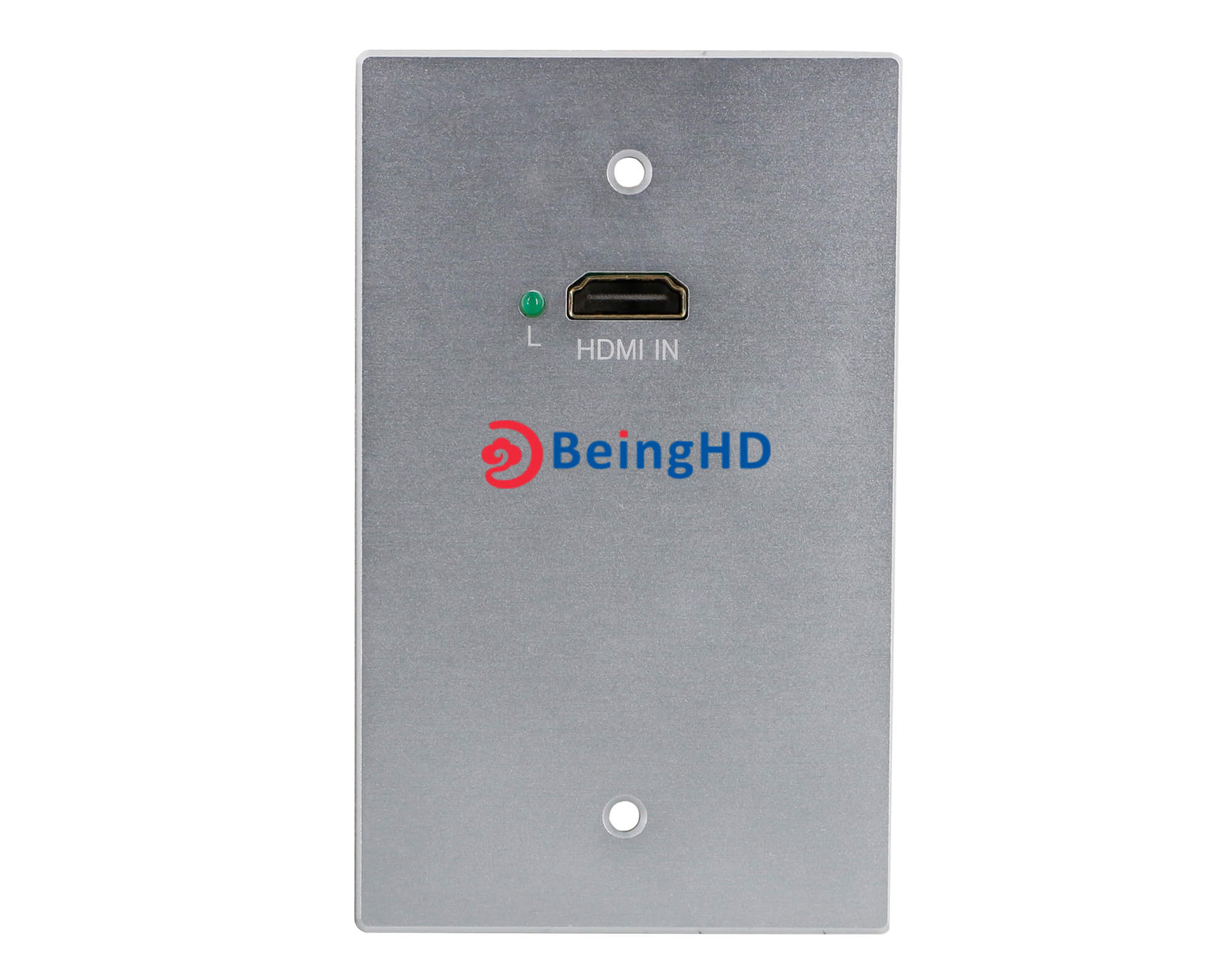 BeingHD Placa De Pared HDBT-WALL-HD-70 Lite Kit Transmisor y Receptor