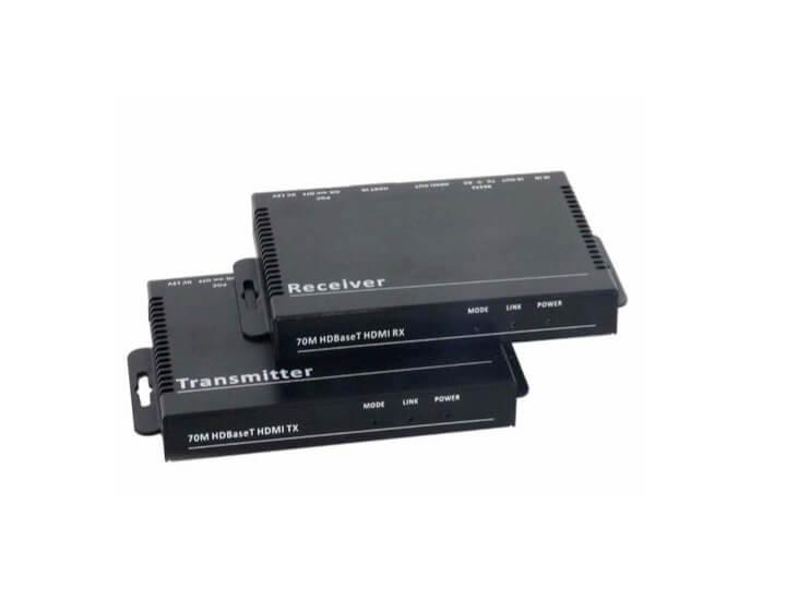 BeingHD Extensor De Video Lite HBDT-HD-70m – 4K Kit Transmisor y Receptor