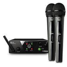 AKG Micrófono Inalámbrico WMS40 Mini Doble